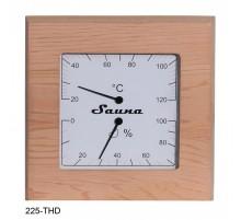 Termoigrometro per sauna in cedro